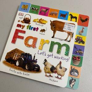 My first farm - hard board book